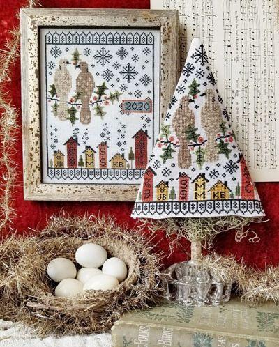 Hello from Liz Matthews Second Day of Christmas Sampler & Tree