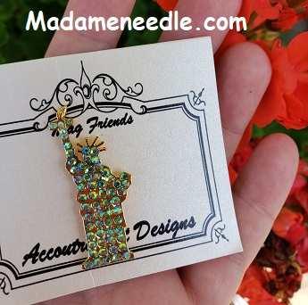 Statue of Liberty needle minder by Accoutrement Designs