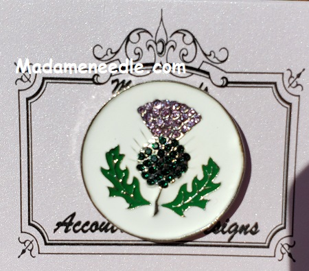 Thistle needle minder by Accoutrement Designs
