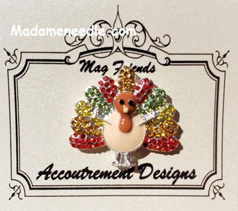 Turkey needle minder by Accoutrement Designs