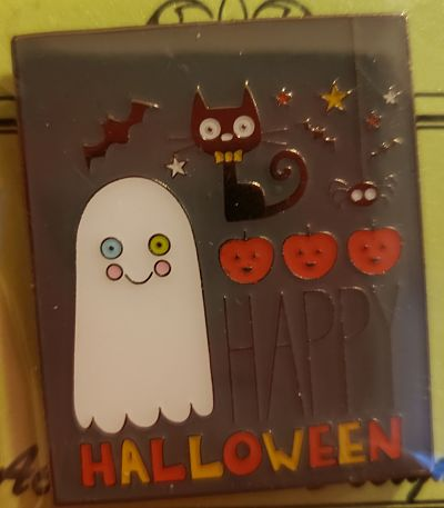Happy Halloween needle minder by Accoutrement Designs