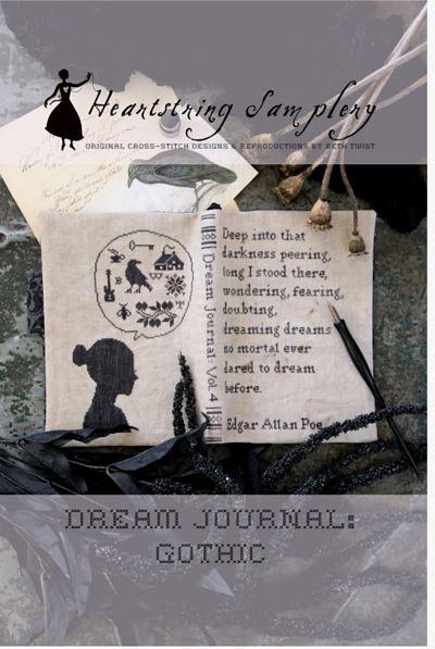 Heartstring Samplery Dream journal Gothic