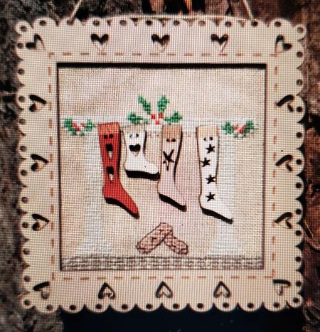 The Bee Company Christmas socks