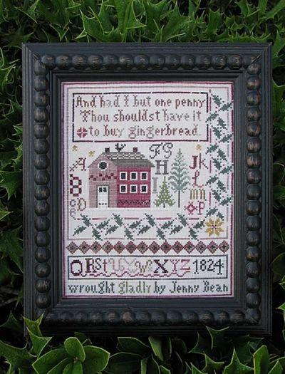 Shakespeare's Peddler Jenny Bean's Christmas Sampler