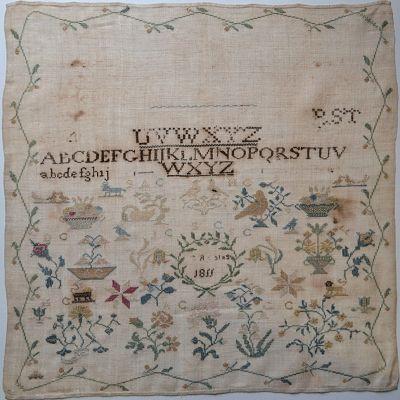 Shakespeare's Peddler Ragamuffin #2-Quaker Sampler