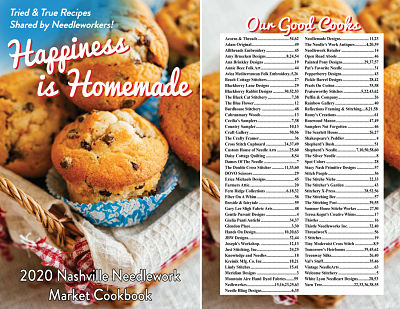 Happiness Is Homemade Cookbook for Nashville 2020