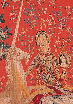 Lady& Unicorn by Thea Gouverneur