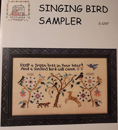 Rosewood Manor Singing bird sampler