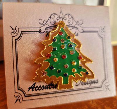 Needle minder Gingerbread Christmas tree