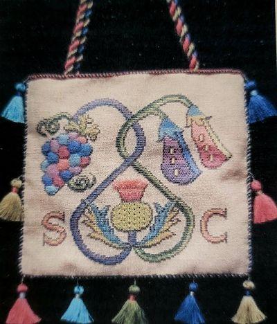 Nostalgic Needle Scottish Work Bag