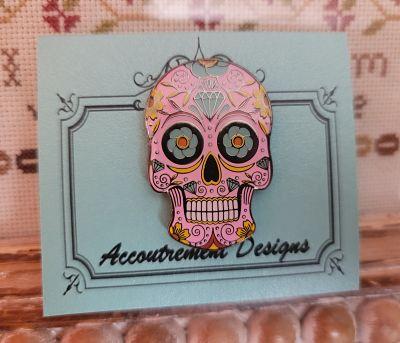 Accoutrement Designs Sugar Skull needleminder