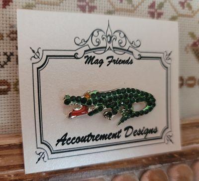 Accoutrement Designs Alligator needleminder