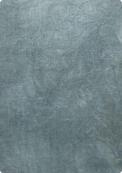 Wrinkled fabrics Teal Experience