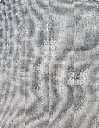 Wrinkled fabrics Head in the Clouds opalescent
