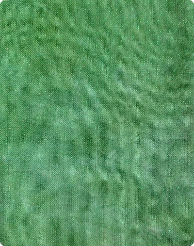 Wrinkled fabrics Green Dreams- opalescent