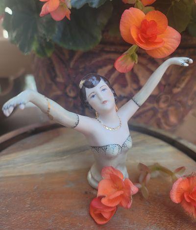 Porcelain half doll Sally the Gatsby actress