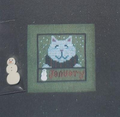 Val's Stuff Kitty Kalendar- January