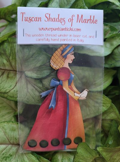 Giulia Punti Antichi Tuscan Shades of Marble thread keeper