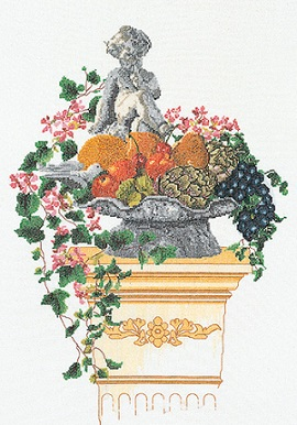 Statue In Fruits & Vegetables by Thea Gouverneur