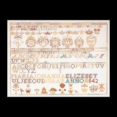 Sampler 1842,GOK2066,Thea Gouverneur