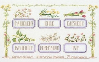 Herb sampler by Thea Gouverneur