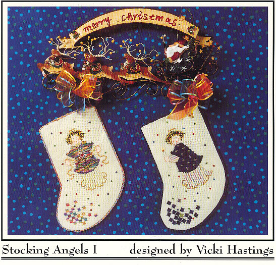 Stocking Angels I by Crossed-Eyed Cricket