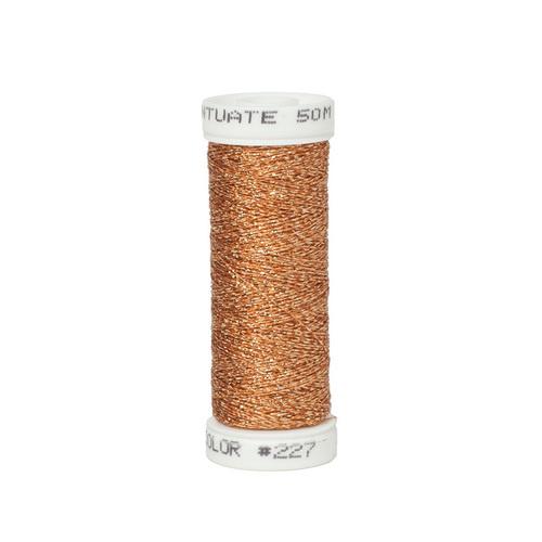Accentuate Metallic Thread - 227 Brown Rust