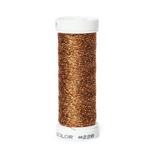 Accentuate Metallic Thread - 228 Cedar Wood