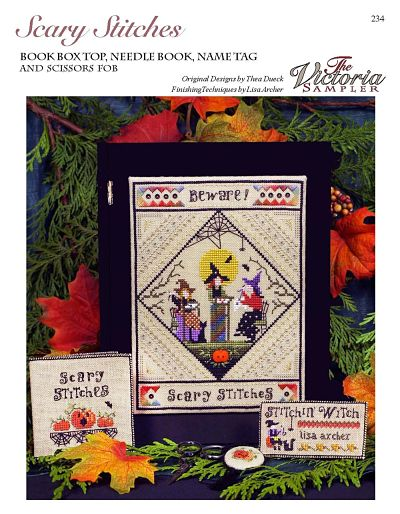 The Victoria Sampler Scary stitches