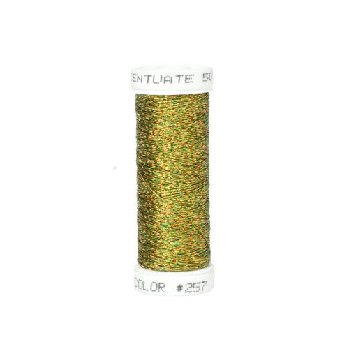 Accentuate Metallic Thread - 257 Olive