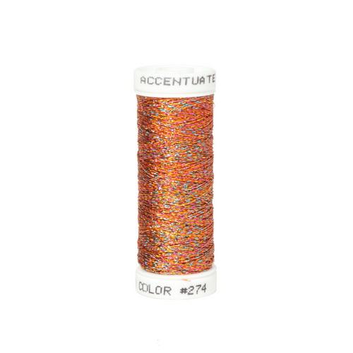 Accentuate Metallic Thread - 274 Burnt Orange