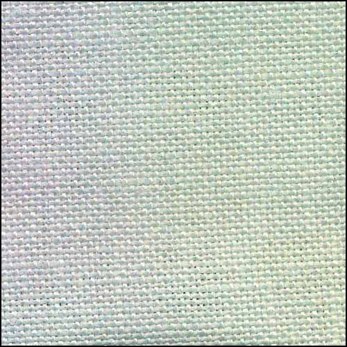 Fabric Flair Fairy Mist with Silver 28ct Linen,17x19