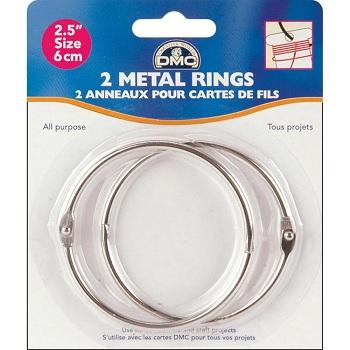 Metal Rings 2-1/2 by DMC