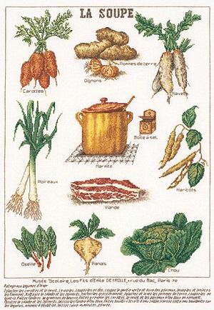 Soup vegetables by Thea Gouverneur