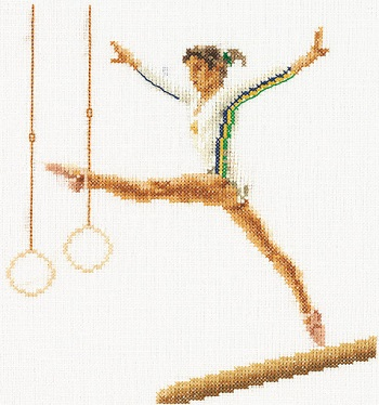 Gymnast by Thea Gouverneur