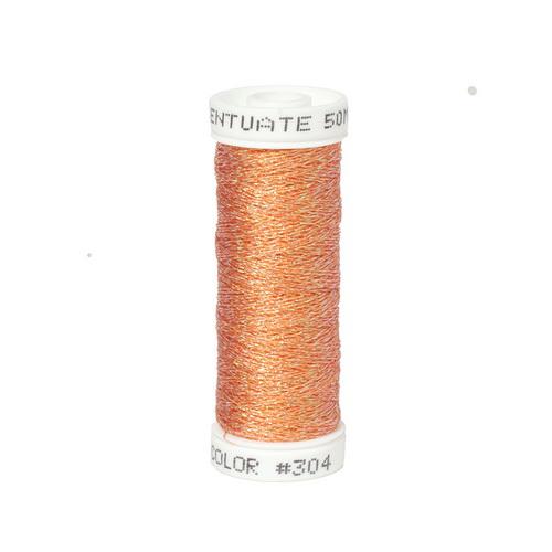 Accentuate Metallic Thread - 304 Apricot