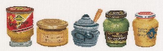 Mustard pots by Thea Gouverneur