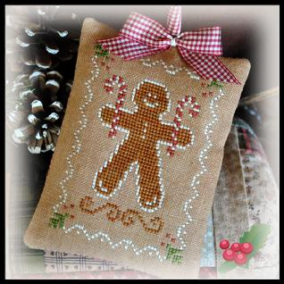 Gingerbread Cookie by Little House Needleworks