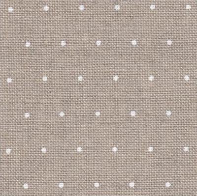 EDINBURG Linen with White Mini Dots 36CT,32171399,18X27