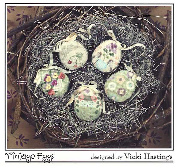 Cross-Eyed Cricket Vintage Eggs