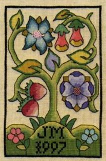 Nostalgic Needle Tree of Life Bookcover