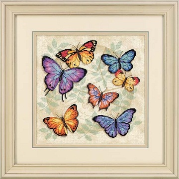 Butterfly Profusion-35145- by Dimensions
