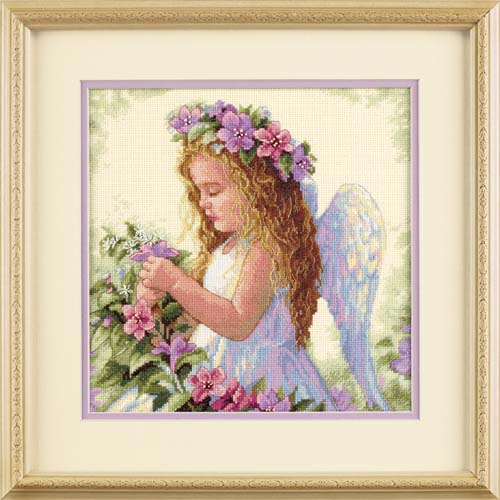 Passion Flower Angel-35229- by Dimensions