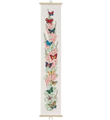 Butterflies bellpull by Permin