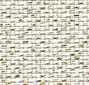 AIDA 14CT,GOLD/BEIGE,3706118,18 X 21