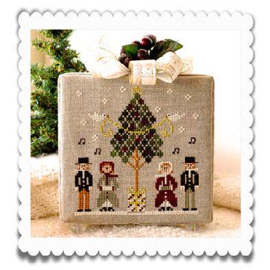 Caroling quartet by Little House of Needlework