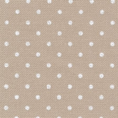 LUGANA MURANO PETIT POINT 32CT,Light Taupe with White Points,39847309,18X27