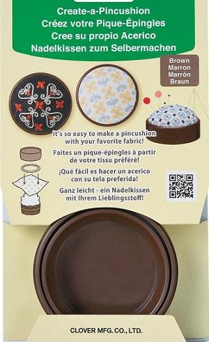 Create-a-pincushion,Brown by Clover