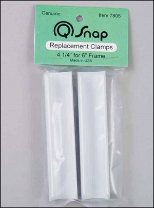Q-snap replacement clamps 4 1/4