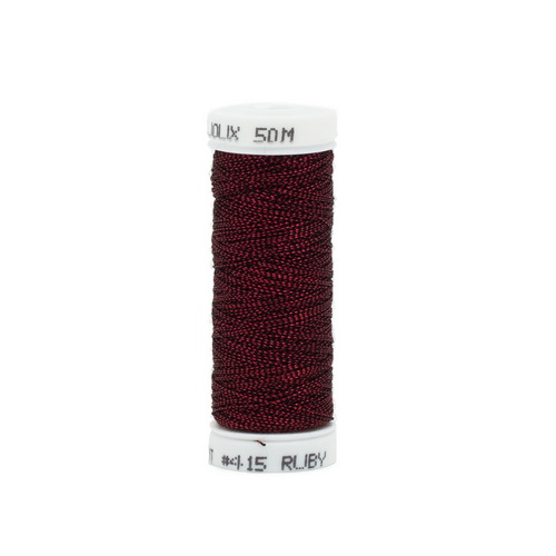 Bijoux Metallic Thread - 415 Ruby